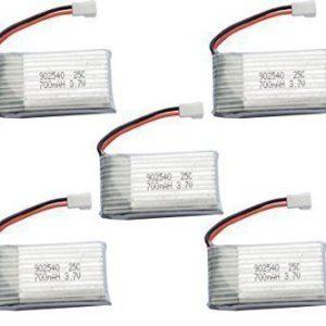 تقویت باتری کوادکوپتر x5