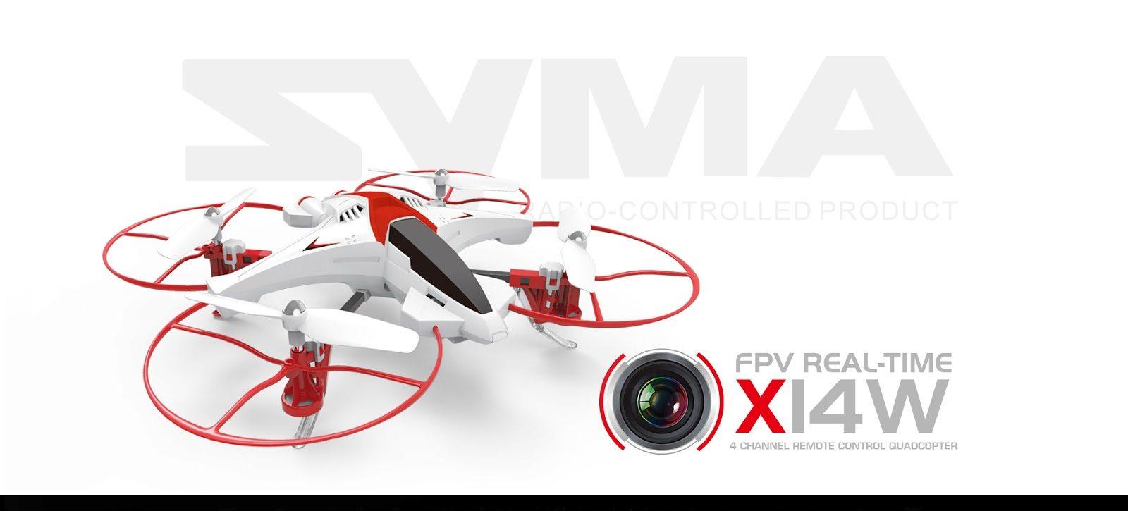 کوادکوپتر سایما x14w
