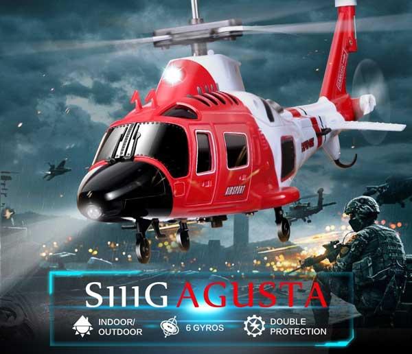 هلیکوپتر کنترلی S111G سایما