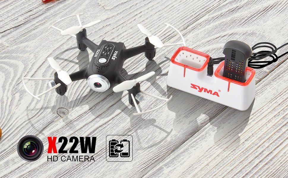 کوادکوپتر دوربین دار X22W سایما