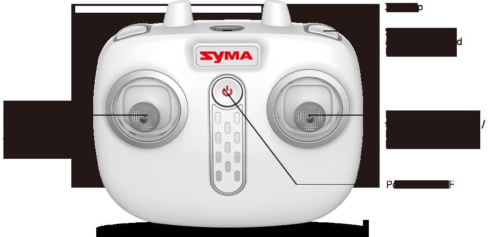رادیو کنترل syma X26